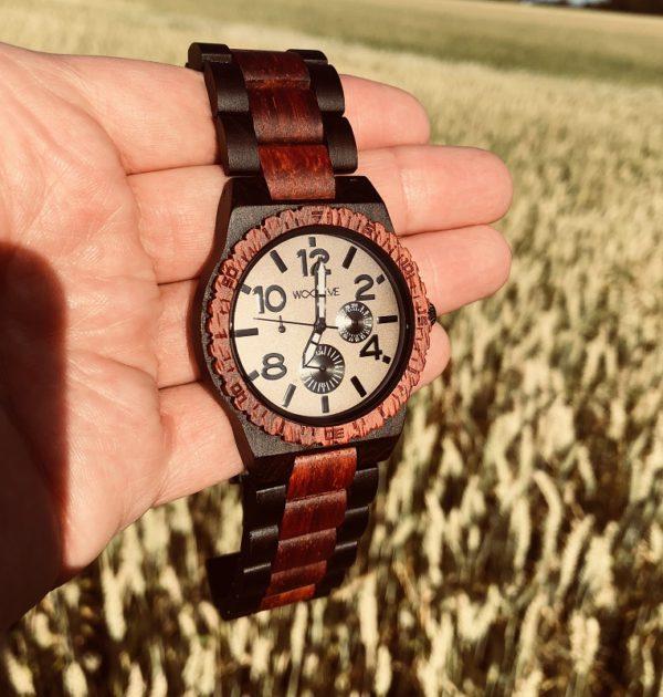 Vulcan wooden watch
